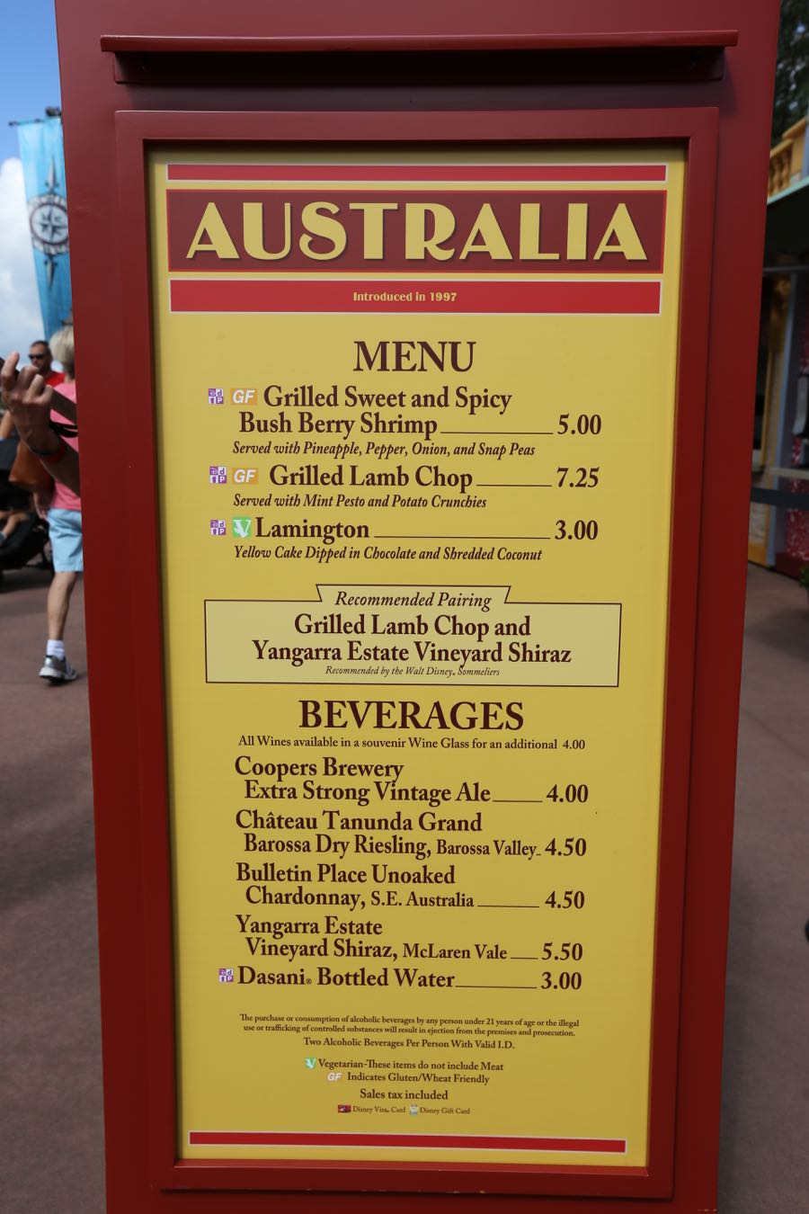 Festival Food And Wine Epcot  Date