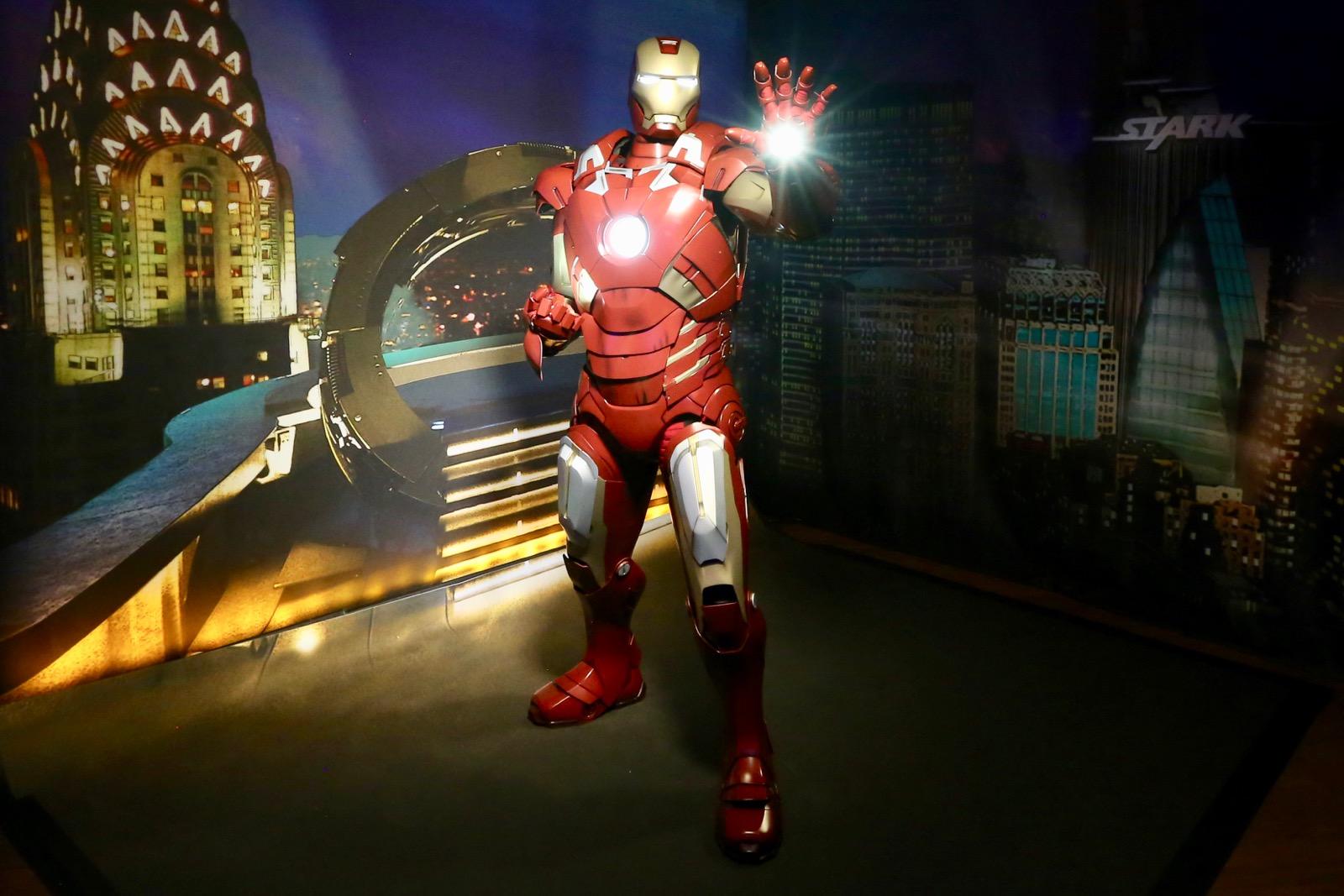 Iron Man (in costume)