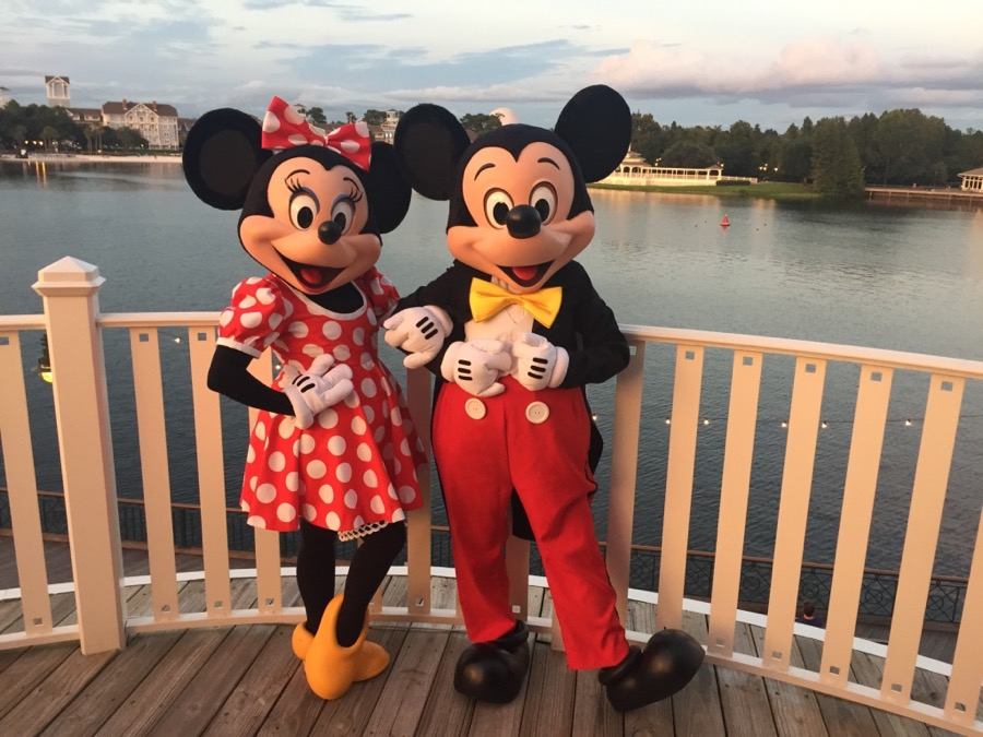 Old Key West Resort - Mickey and Minnie