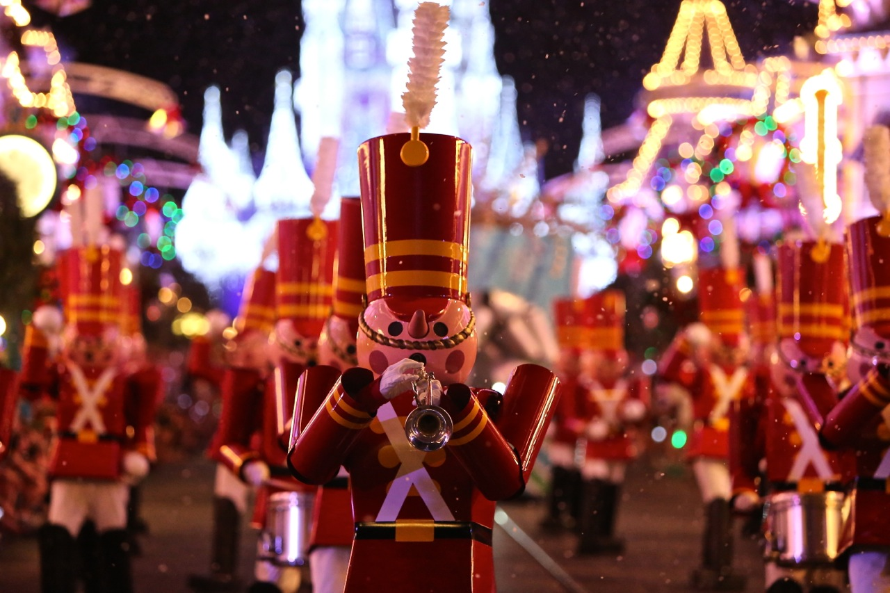 video magic kingdom transforms from halloween to christmas - On This Night On This Very Christmas Night