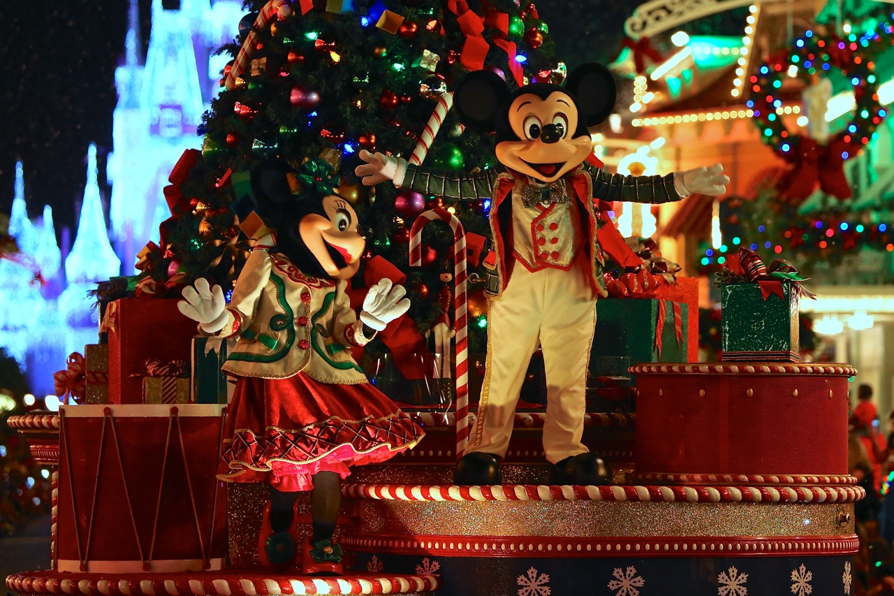 Mickey\'s Very Merry Christmas Party 2018, Christmas at Disney World