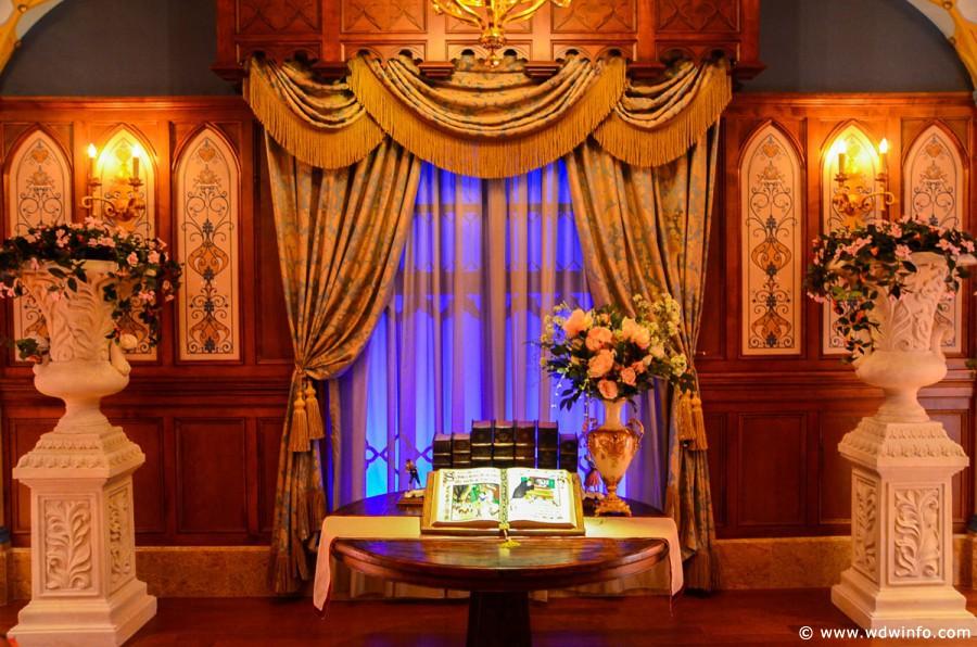 Princess Fairytale Hall In Fantasyland Magic Kingdom