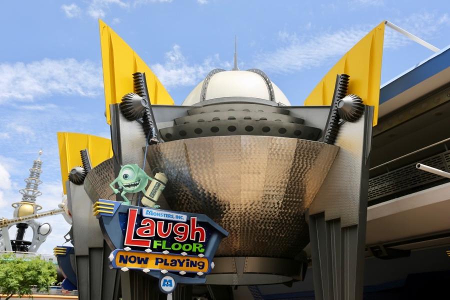 Monsters Inc Laugh Floor Comedy Club Magic Kingdom