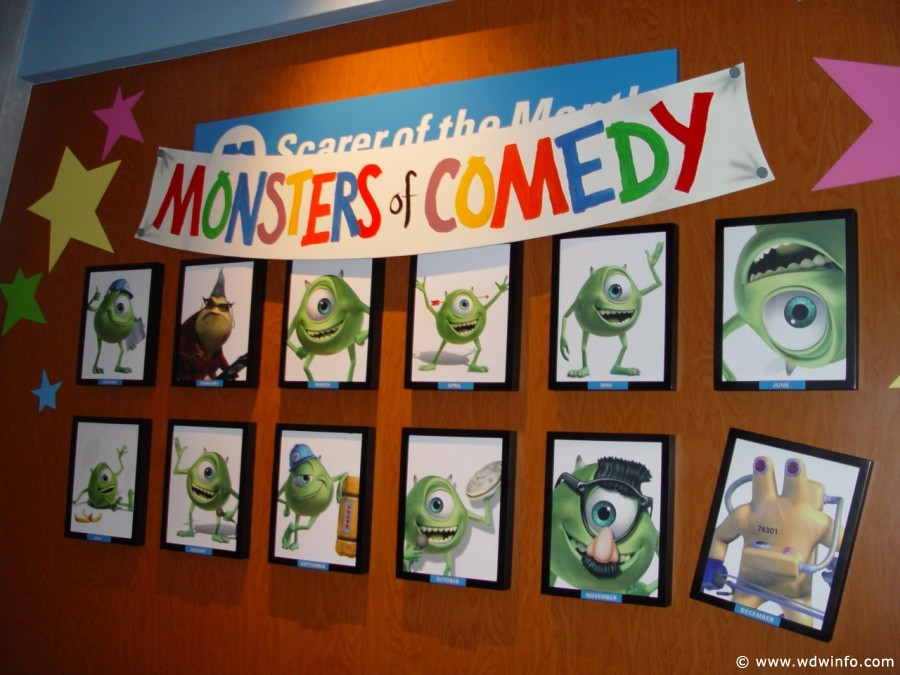 Monsters, Inc. Laugh Floor Comedy Club