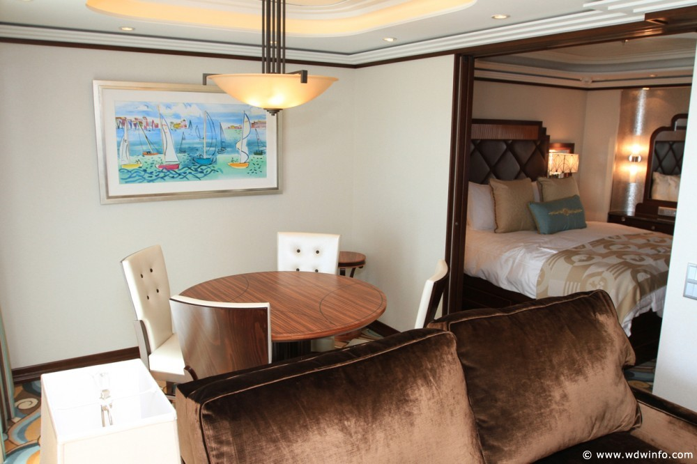 Disney Cruise Line Staterooms 1 And 2 Bedroom Concierge