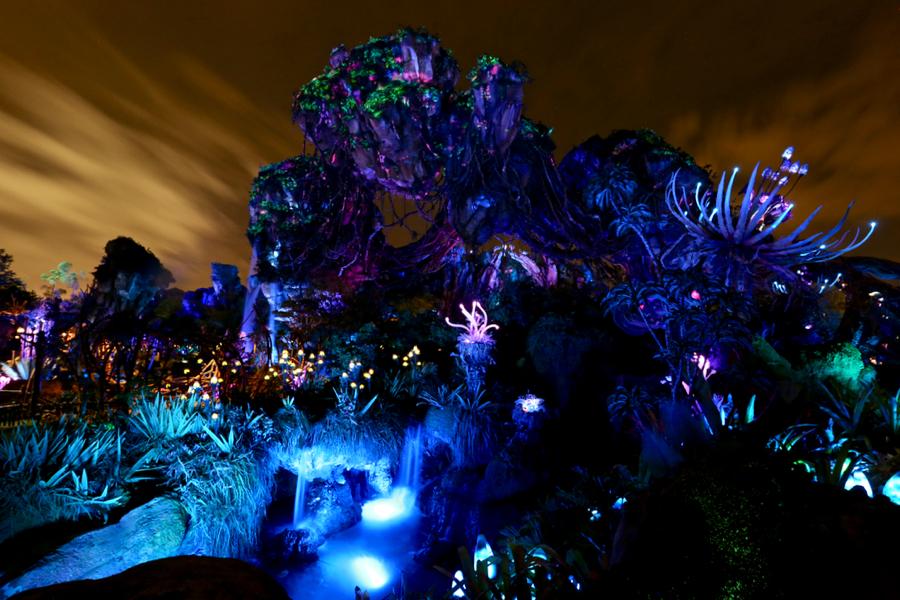 Animal Kingdom Florida Map.Pandora The World Of Avatar Disney S Animal Kingdom