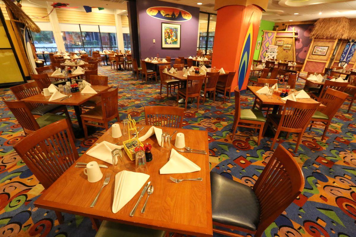 PCH Grill Menu, Paradise Pier Hotel