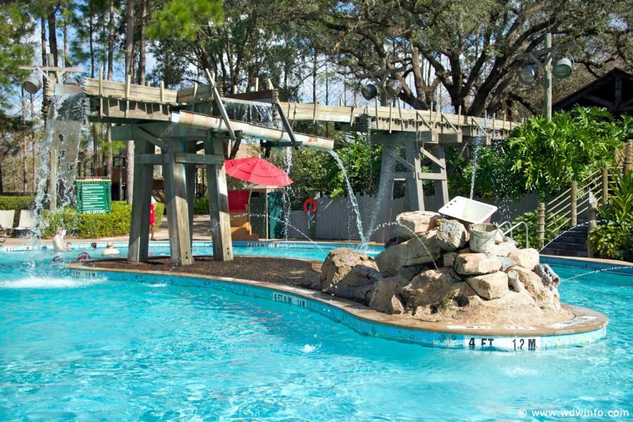 Disney 39 s port orleans riverside resort for Koi pond builders orlando fl