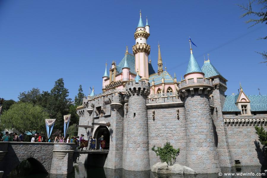 Fantasyland Sleeping Beauty Castle