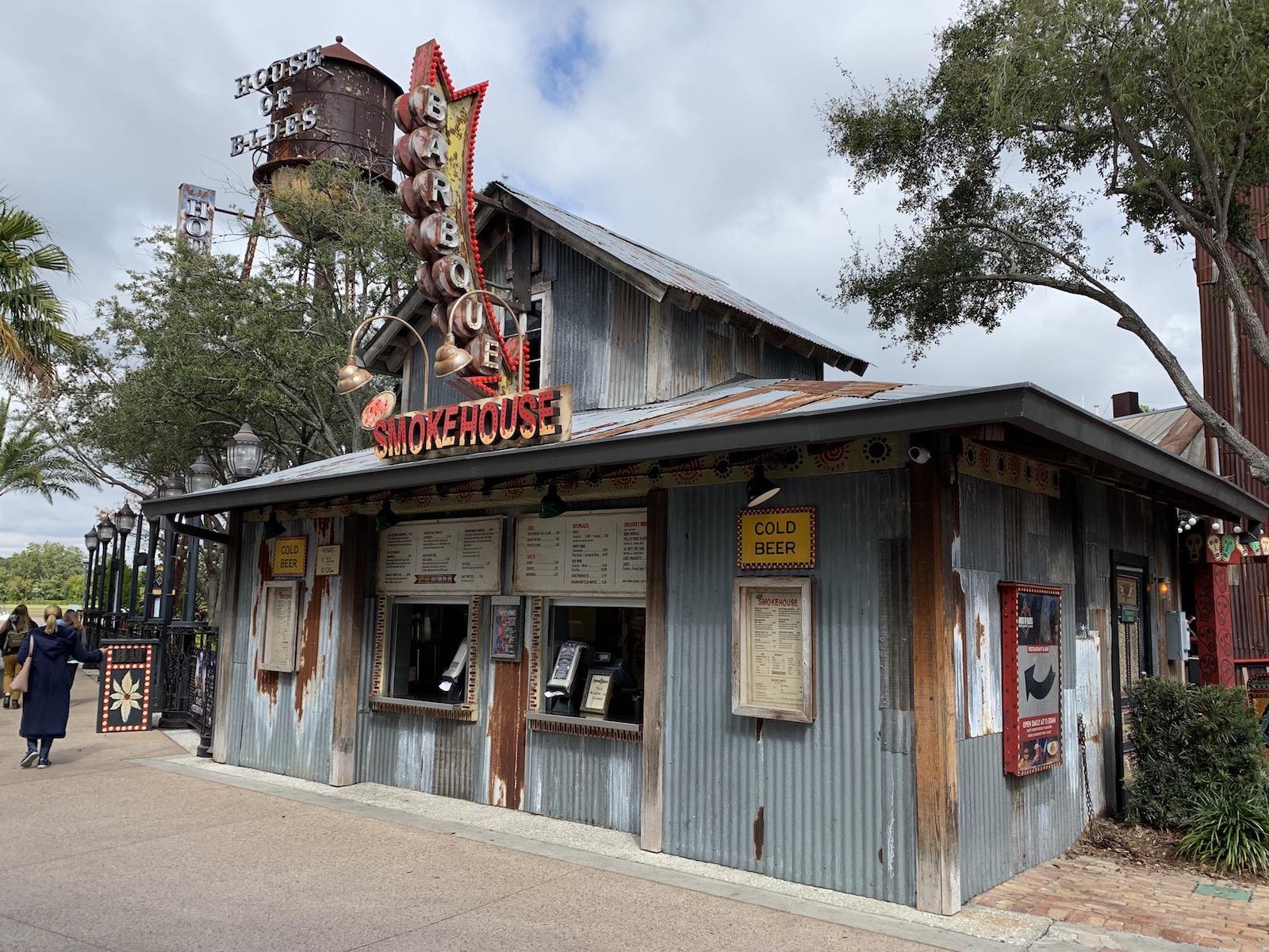 House of Blues The Smokehouse Disney Springs