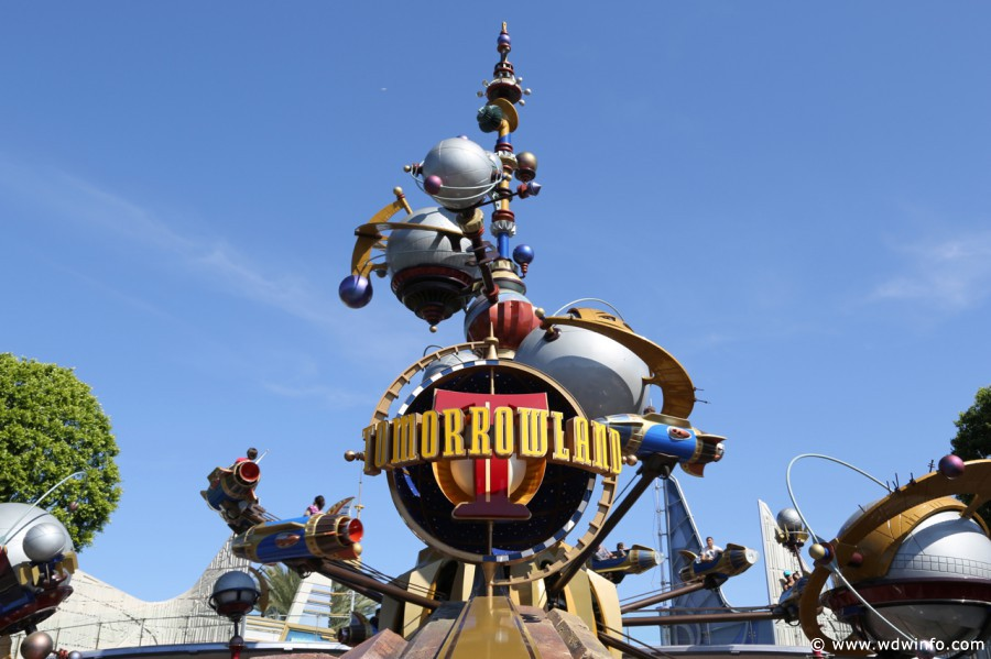Image result for tomorrowland disneyland