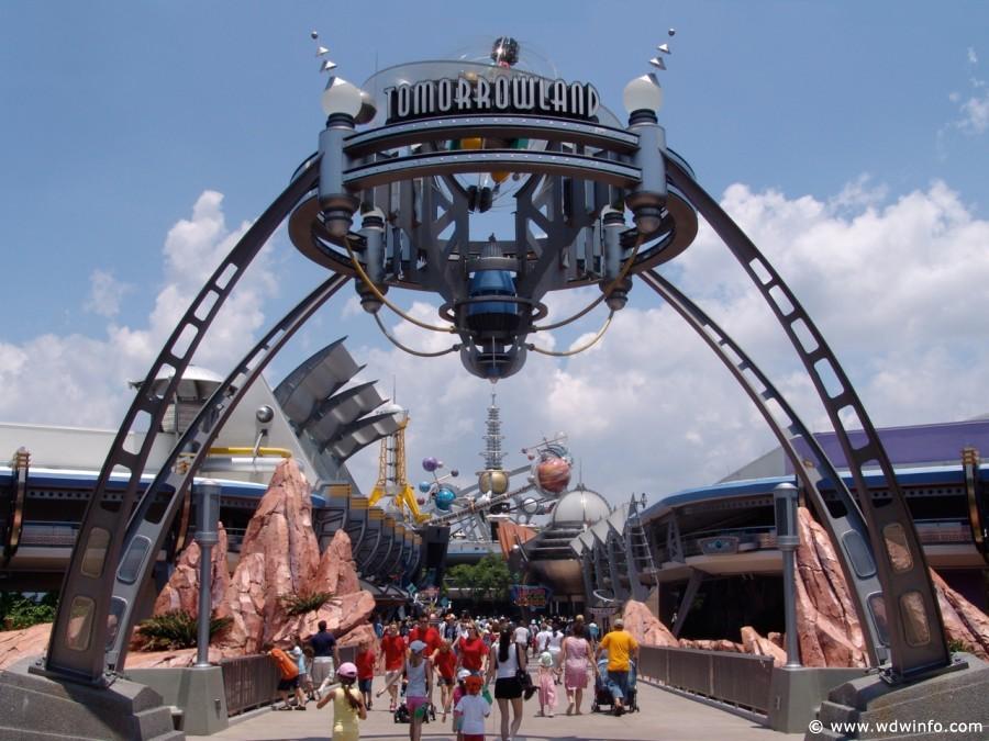 Tomorrowland Attractions Magic Kingdom Walt Disney World