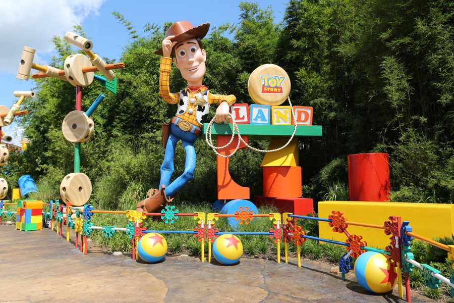 Image result for Hollywood Studios toy story land